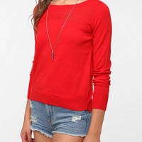 Cooperative Mesh Top Sweater