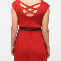 Urban Renewal Lattice Back Dress