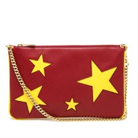 STELLA MCCARTNEY | Eco Leather Star Clutch | Browns fashion & designer clothes & clothing
