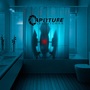 Portal 2 Aperture Laboratories Shower Curtain