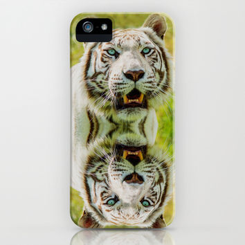 WHITE TIGER MAJESTY iPhone & iPod Case by Catspaws   Society6
