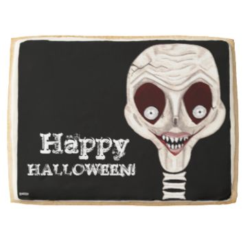 Ghoulish Skull Jumbo Cookie