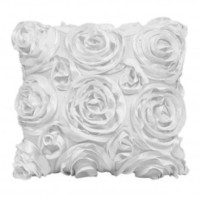 Wake Up Frankie - The Bouquet Dec Pillow - White