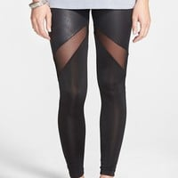 PPLA Mesh Panel Leggings (Juniors)