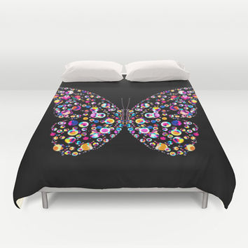 Butterfly Duvet Cover by Ornaart | Society6