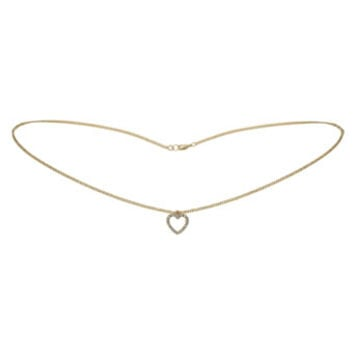 Heart Drop Belly Chain - Accessories