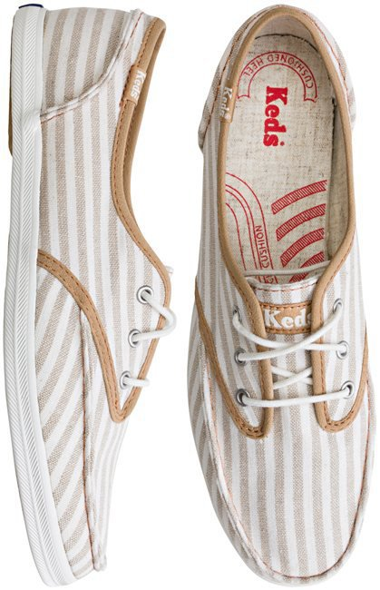 Skipper Canvas Stripe Shoe