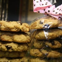 Vegan Chocolate Chip cookies, love, natural,healthy ingredients,wedding,birthday.