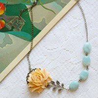 luminita rose indie charm necklace at ShopRuche.com