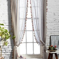 Magical Thinking Pompom Curtain-
