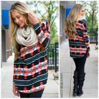 Pumpkin Patch Tunic - BLACK /