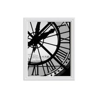 Clock at Musee d'Orsay Framed Print by Rebecca Plotnick
