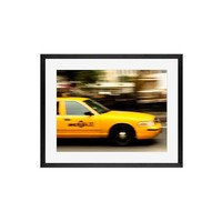On the go in New York City Framed Print by Rebecca Plotnick
