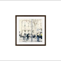 Postcard from Paris Framed Print by Cindy Taylor