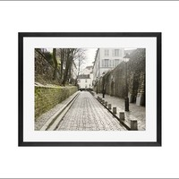 Rue des Saules Framed Print by Nichole Robertson