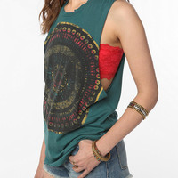 Title Unknown Mandala Eye Cutoff Tank