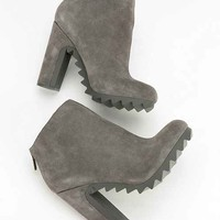 Circus By Sam Edelman Kensley Extreme Tread Suede Ankle Boot- Grey