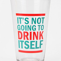 Drink Itself Pint Glass
