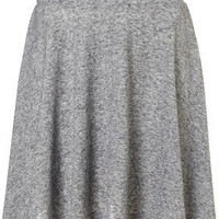 Grey Speckle Skater Skirt - Full & Flippy Skirts - Skirts  - Clothing
