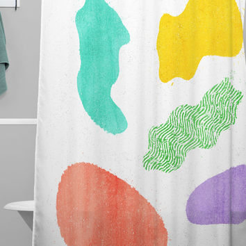 Nick Nelson Semisoft Shower Curtain