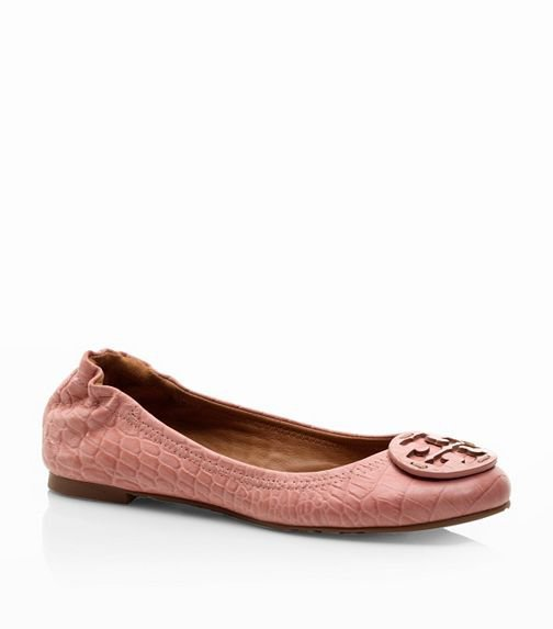 Amazon Croc Print Reva Ballet Flat