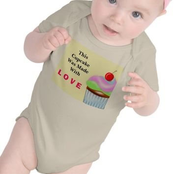 Cupcake Love Outfit for Infants & Toddlers