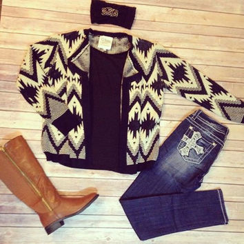 """Pave The Way"" Cardigan"