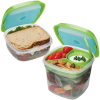 Walmart: Fit and Fresh Fresh Selects Salad and Sandwich Value Set