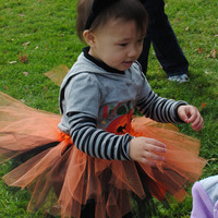 Orange and Black Halloween Tutu