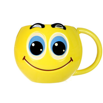 SMILEY FACE MUG - Default Title