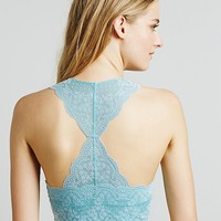 Intimately Womens Flocked Galloon Racerback