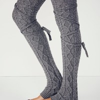 Free People Womens Chambers Wrap Legwarmer