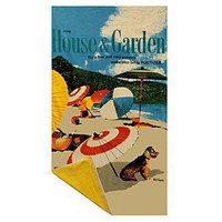 "Condé Nast ""House & Garden: Beach Pup"" Beach Towel - Beach Towels - Bloomingdales.com"