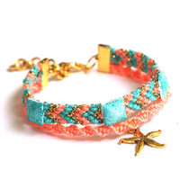 Starfish Friendship Bracelet.
