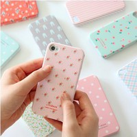 Rainbow Pattern 4/4S iPhone Case