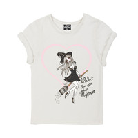 Worst Nightmare Valfre Crew Tshirt With Tacked Sleeves