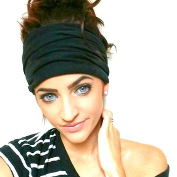 Extra Wide Scrunch Headband (FREE US SHIPPING)