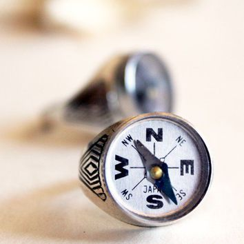 Nautical Compass Ring