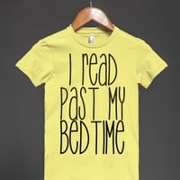 Late Reader-Female Lemon T-Shirt