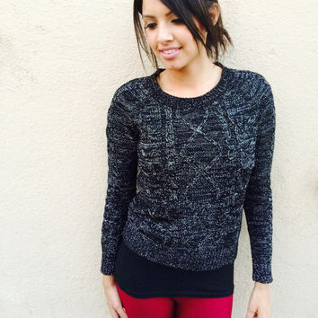 Lux Cable sweater