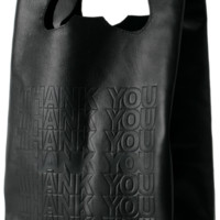 Cast of Vices - corner store leather shopper