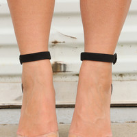 Hello Hottie Heels: Black