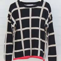 SQUARED OFF SWEATER