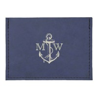 Anchor, Nautical Monogram