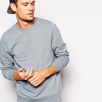 ASOS | ASOS Sweatshirt With Crew Neck at ASOS
