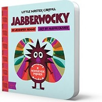 Jabberwocky Board Book: BabyLit Classic Literature Introduction
