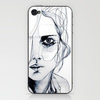 Sketch V iPhone & iPod Skin by Holly Sharpe | Society6