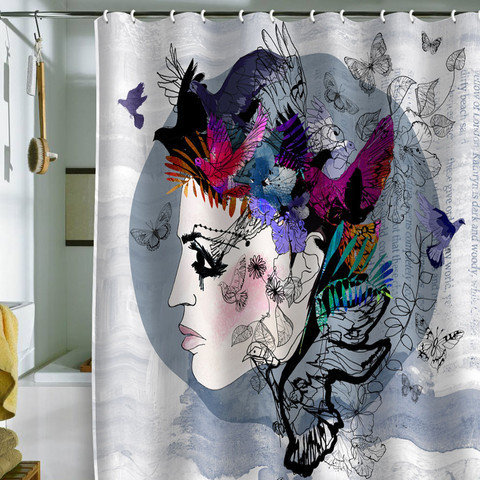 DENY Designs Home Accessories | Holly Sharpe Estrella Shower Curtain