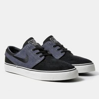 Nike SB Zoom Stefan Janoski Shoes - Black/Charcoal | Urban Industry