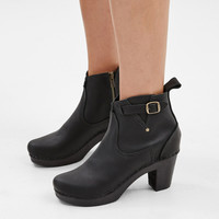 "Totokaelo - No. 6 Black/Black 5"" High Heel Buckle Boot - $390.00"